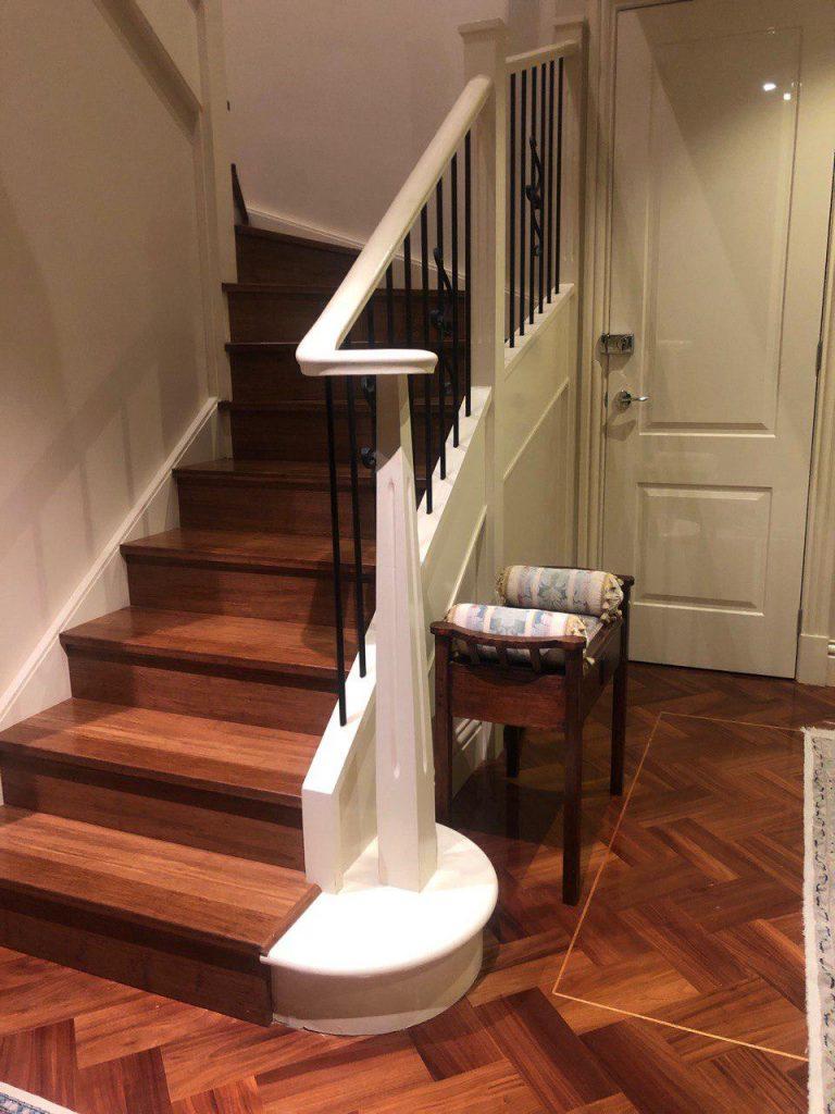 Stair nose Bamboo flooring